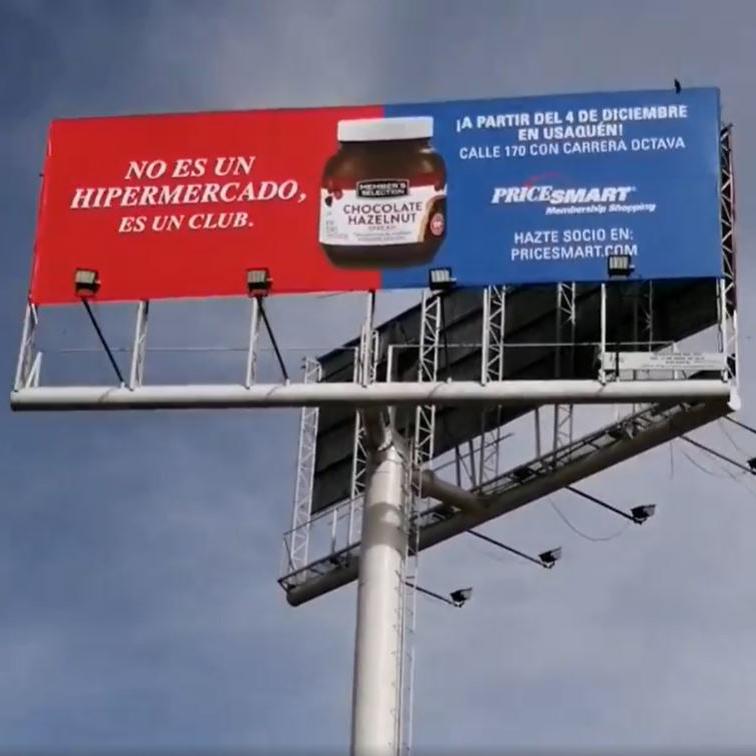 Instalación publicitaria